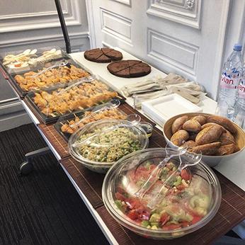 Lunch traiteur paris